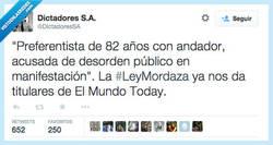 Enlace a Ojalá fuera una bromade @elmundotoday, pero no por @DictadoresSA