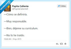 Enlace a Creo que mientes, por @papitacaliente0