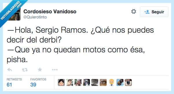 como,Derbi,Derby,esa,listo,moto,motocicleta,pisha,Sergio Ramos