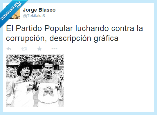 corrupción,droga,Maradona,Partido popular,PP,Rato