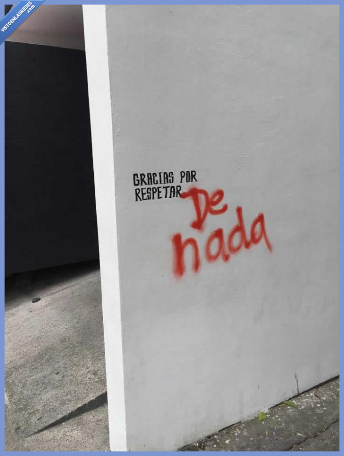 de nada,educado,gracias,graffiti,pintar