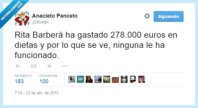 adelgazar,comida,corrupción,dietas,dinero,funcionar,gastar,gorda,Rita Barberá,Valencia