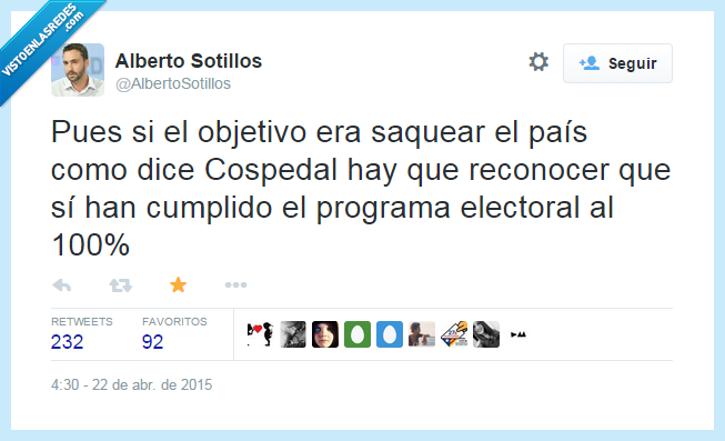 Cospedal,electoral,error,fail,obsetivo,pp,programa,saquear