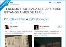 Enlace a Troleito a @pipiestrada1 porque se lo ha buscado un poco