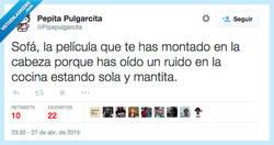 Enlace a Y taparte entera, como si la mantita fuese a protegerte de todo por @Pipapulgarcita