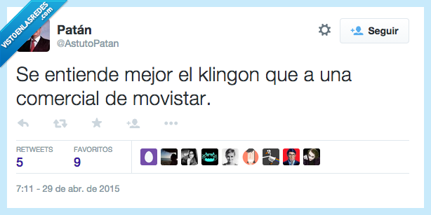 comercial,entender,entiende,imposible,indio,klingon,mejor,movistar,noentiendonah,sudamericano
