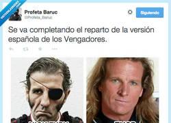 Enlace a Se empiezan a confirmar los Spanish Vengadores por @Profeta_Baruc