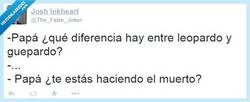 Enlace a La diferencia está en... por @The_False_Joker