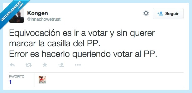 casilla,equivocacion,error,marcar,partido,partido popular,popular,pp,querer,queriendo,votar