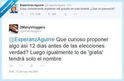 Enlace a Yo le llamaría oportunismo por @2manyvloggers y @EsperanzAguirre
