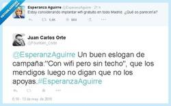 Enlace a Sin wifi no hay paraiso por @EsperanzAguirre y @Fountain_Code