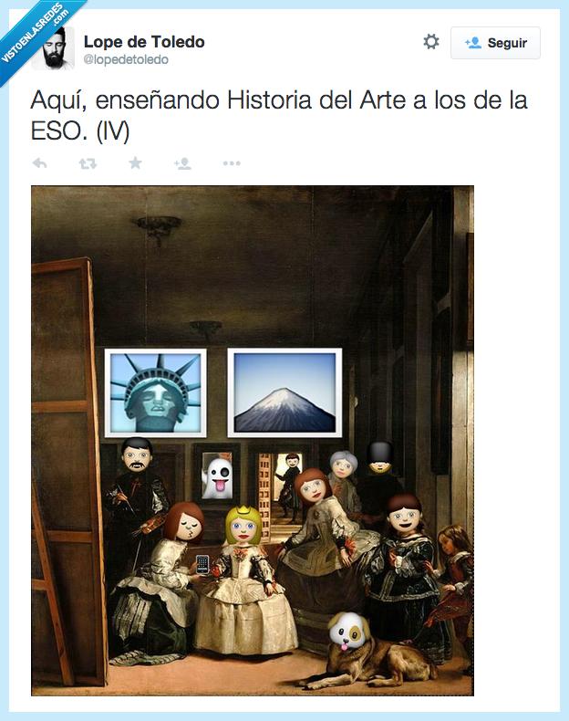 arte,cuadro,enseñando,enseñar,Eso,historia,meninas,Velazquez