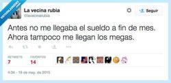 Enlace a No llego a fin de mes por @lavecinarubia