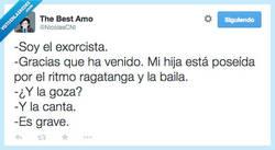 Enlace a Ha llegado el exorcista por @NicolasCNI