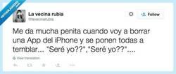 Enlace a Esto es pasar miedo, por @lavecinarubia