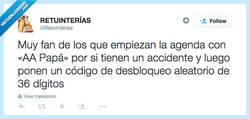 Enlace a Nos encontrarán antes los del 112, por @Retuinterias