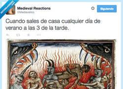 Enlace a ¡Bienvenidos al infierno veraniego! por @Medievalico
