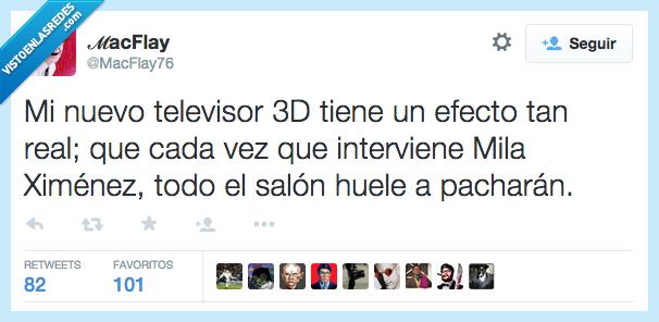 3D,beber,bebida,borracha,efecto,huele,Mila Ximenes,nuestro,oler,pacharan,real,salon,televisor,TV
