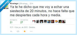 Enlace a ¡Para un ratillo que me acuesto! por @Riveriego_