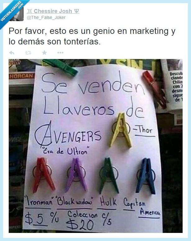 avengers,ni idea,pinza,ropa,ultron,vendedor,Vengadores