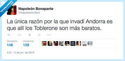 Enlace a Napoleon se sincera por @napoleontuitero