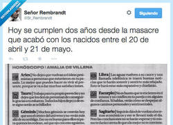 Enlace a Hoy es el aniversario de la MASACRE TOTAL. Flipa. por @Sr_Rembrandt