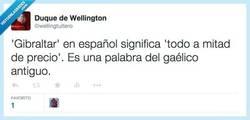Enlace a Traducción de 'Gibraltar' al castellano por @wellingtuitero