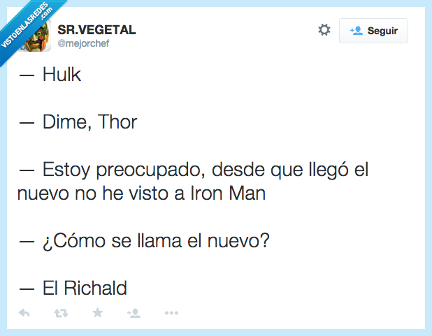 acero,cobre,dime,hulk,Iron Man,llegado,llegar,nuevo,preocupado,Richald,robar,thor,traje
