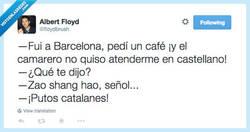 Enlace a ¡En Barcelona si hablas en español no te atienden! por @floydbrush