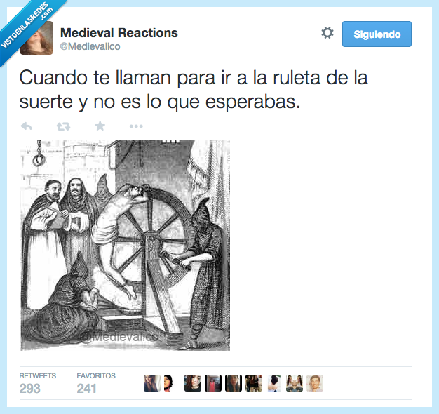 espera,inquisición,medieval,ruleta,suerte,tortura