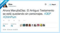 Enlace a Muere Marujita Díaz, Jordi Hurtado pasa a la final por @diostuitero