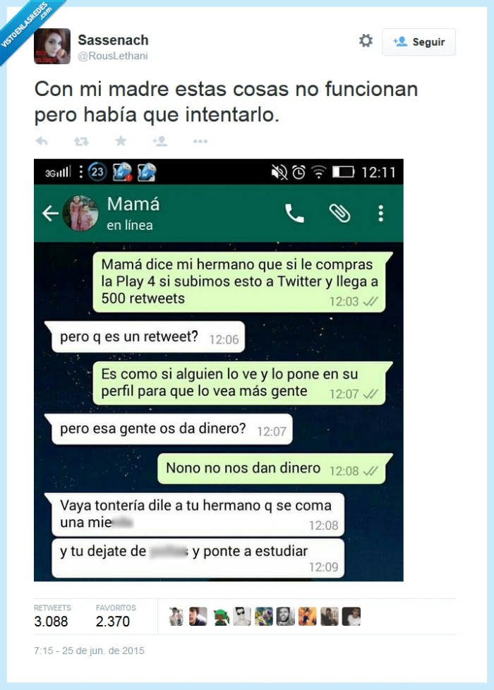417944 - Una madre old school por @RousLethani