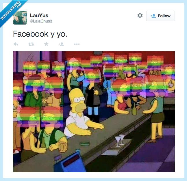 banderas y más banderas,colores,facebook,foto perfil,gay