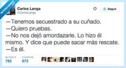 Enlace a No hay duda, podéis quedároslo por @CarlosLanga