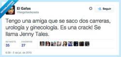 Enlace a Una crack en lo suyo (y en lo de los demás) por @lasgafasdepasta