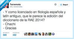 Enlace a Dominio total del léxico por @El_Terremotillo
