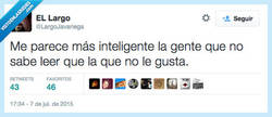 Enlace a Una prueba de inteligencia por @LargoJavariega