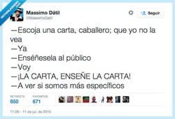 Enlace a ¡Ah, pues haberlo dicho antes! por @MassimoDatil