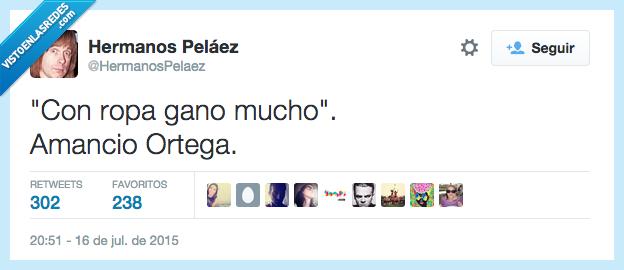 Amancio Ortega,chiste,con,dueño,ganar,gano,millonario,mucho,ropa,tiendas,Zara