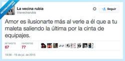 Enlace a Si sientes esto, no le dejes escapar por @lavecinarubia