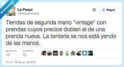 Enlace a - ¿50€ por una camisa de tu abuela? - Es Vintage -¡ES MÍA! por @PatGuerreroGo