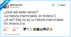 Enlace a Aquí lo único que se acaba es tu paciencia por @SenoritaPuri