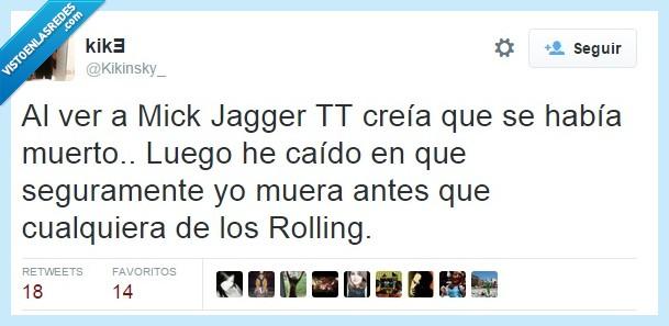 72 años,Mick Jagger,rolling stones,trending topic,TT,y luego dicen que la droga acorta la vida