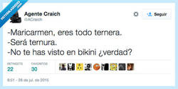 Enlace a Estás MUUUUU buena, Maricarmen por @ACraich