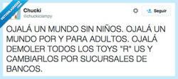 Enlace a ¡Odio a los niños! ¡Les odioooooo! por @chuckiclampy