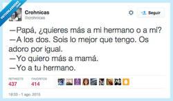 Enlace a Pero no te piques, papá... por @crohnicas