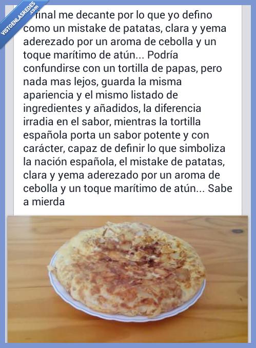 cocinero,fail,tortilla de patatas
