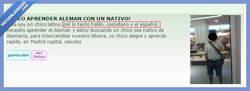 Enlace a Chico bilingüe, habla castellano y el español