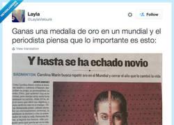 Enlace a Cuando los periodistas se toman el deporte femenino con poca seriedad, por @LaylaVelours