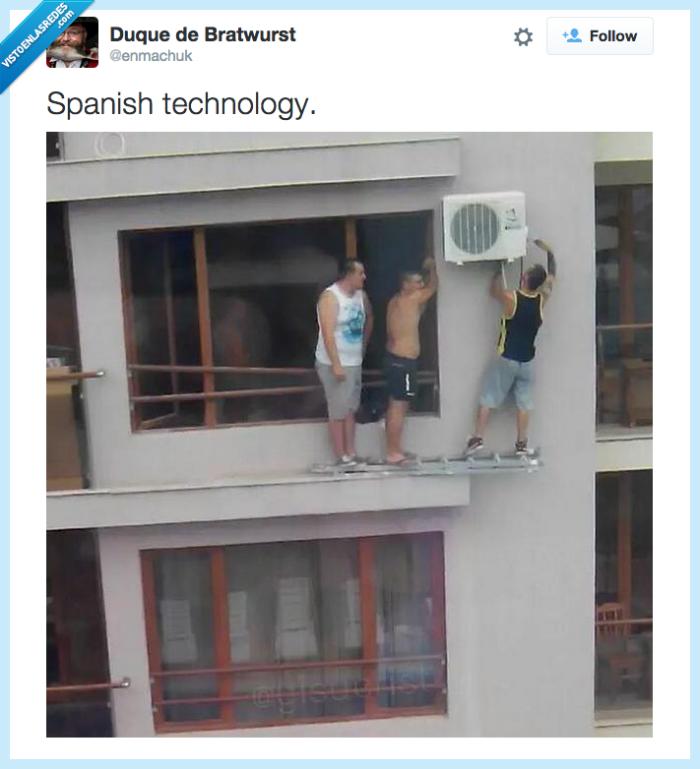 aire acondicionado,instalación,tecnología española